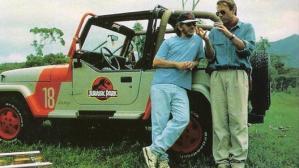 Steven Spielberg & Sam Neill